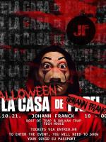 Halloween La Casa de Johann Franck 2021.