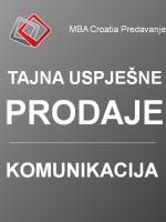 MBA Croatia Predavanje: Tajne uspješne prodaje