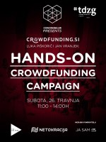 Hands-on Crowdfunding campaign #tdzg