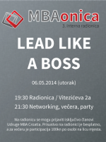 3. MBAonica: Lead like a boss