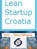 Lean Startup Croatia Varaždin
