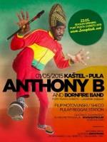 ANTHONY B + Bornfire Band - Live on stage @ KAŠTEL/Pula