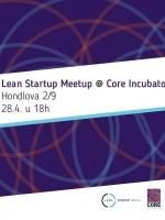 Lean Startup Meetup @ Core Incubator #3