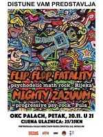 Distune vam predstavlja... Flip Flop Fatality (Rijeka) & Mighty Zazuum (Pula)