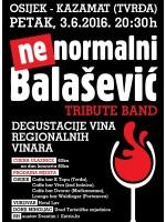 Balašević (Ne)normalni tribute uz degustaciju vina regionalnih vinara