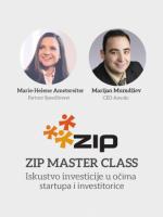 Master Class: Iskustvo investicije u očima investitorice i startupa