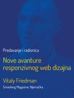 Nove avanture responzivnog web dizajna (Vitaly Friedman, Smashing Magazine)