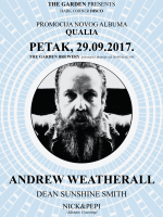 ANDREW WEATHERALL @ THE GARDEN BREWERY
