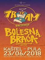 Tram 11 & Bolesna Braća u Puli!