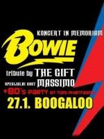 Koncert in memeoriam DAVID BOWIE @ Boogaloo