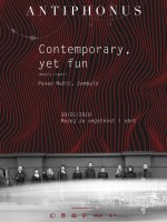 Contemporary, yet fun! - koncert ansambla Antiphonus