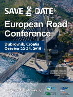 [SALES STOPPED] SAVE THE DATE - European Road Conference 2018