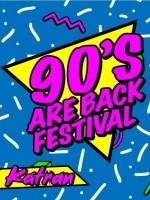 90's ARE BACK Festival / 4 Floor's / 7 DJ's / KATRAN_Zagreb / 7.04. subota