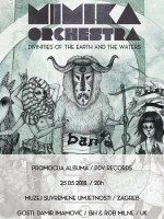 Mimika Orchestra & gosti Damir Imamović & Rob Milne - promocija albuma