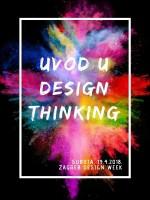 Design Thinking radionica na Zagreb Design Weeku