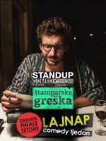 LAJNAP TJEDAN: 'ŠTAMPARSKA GREŠKA' - Vlatko Štampar - Stand-up comedy show