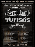 Korpiklaani, Turisas, Trollfest - Wayfarers & Warriors