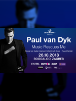 Paul van Dyk in Zagreb I Music Rescues Me Album Tour I