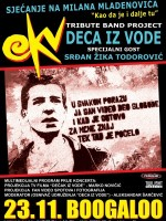 EKV tribute band project DECA IZ VODE @ Boogaloo