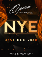 NYE 2019 at Opera club