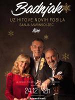 Badnjak uz hitove Novih Fosila: Sanja, Marinko i Zec LIVE