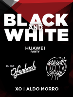 Huawei Black And White party: Ofenbach DJ SET i Mahmut Orhan