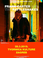[OTKAZANO] FRANK CARTER  AND THE RATTLESNAKES