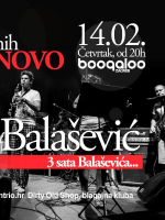 Balašević tribute by (Ne)normalni @ Boogaloo