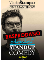 LAJNAP predstavlja: ODRASLOST - Stand Up Comedy - Vlatko Štampar