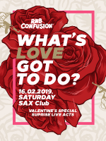 RNB CONFUSION WHAT'S LOVE GOT TO DO?