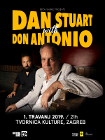 Dan Stuart (USA) with Don Antonio / Tvornica kulture / 01/04/2019