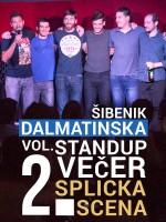 Šibenik: Dalmatinska stand-up comedy večer Vol. 2