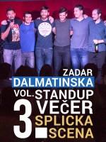 Zadar - Dalmatinska stand-up comedy večer Vol. 3