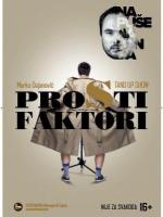 15. Kulturšok - Stand up show: Prosti faktori (Marko Dejanović)