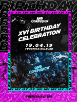 RNB Confusion XVI Birthday Celebration