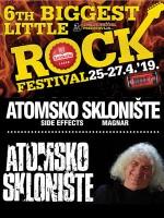 ATOMSKO SKLONIŠTE 6th BIGGEST LITTLE ROCK FESTIVAL