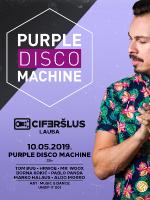 Ciferšlus Lauba presents Purple Disco Machine