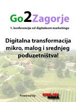 Go2Zagorje - digitalna transformacija mikro, malog i srednjeg poduzetništva!
