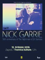 Nick Garrie (UK) / Tvornica kulture, Zagreb / 15/05/2019