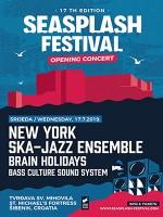 17th Seasplash Festival Opening Concert w/ New York Ska-Jazz Ensemble
