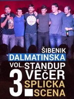 Šibenik: Dalmatinska stand-up comedy večer Vol. 3