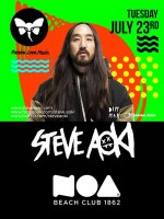 Steve Aoki  @ Noa Beach Club