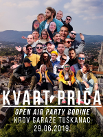 KVART PRIČA OPEN AIR PARTY