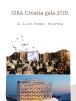 MBA Croatia Gala 2019