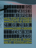 BSH Zagreb Airport | Terminal Pleso powered by Desperados