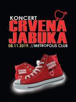 CRVENA JABUKA // Live koncert 08.11.2019.@ Metropolis Club