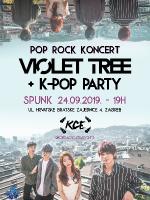 Pop rock koncert Violet Tree + KCE K-POP PARTY