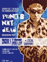 Don Letts (Punk's Not Dead exhibition party)