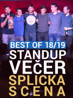 Zadar: Otvaranje standup sezone - Best of SplickaScena 18/19