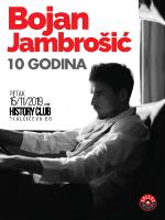 Bojan Jambrošić 10 godina karijere, History klub